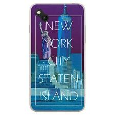 Coque Wiko Sunny à motif Silicone Gel qualité FR - New York Staten Island