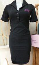 L' Agent Provocateur uniform dress M ladies black stretch jersey NEW