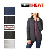 32 DEGREES WEATHERPROOF LADIES ZIP FLEECE LINED JACKET VARIETY Colors Sizes !