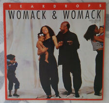 WOMACK & WOMACK    ***  TEARDROPS EXTENDED REMIX   **  7:37 MINUTEN VERSION