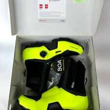 Bontrager Winter Cycling Shoes JFW- Flourescent Yellow- Size 44 11US 10UK NEW