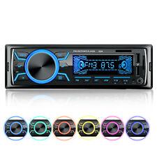 Autoradio Mit Bluetooth MP3 Stereo Freisprech 2 USB AUX TF 7 Farben 1 DIN