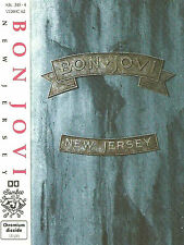 Bon Jovi ‎New Jersey CASSETTE ALBUM VERHC 62, Jambco Records Hard Rock