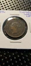 1896 CANADA LARGE CENT PENNY 1 CENT COIN (Raw865)