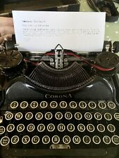 More details for 1929 smith corona 4 portable typewriter in working condition, serial: l1p00139