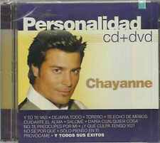 CD/DVD - Chayanne NEW Personalidad 18 Tracks & 11 Videos FAST SHIPPING !