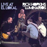 RICH HOPKINS & LUMINARIOS - Live At El Lokal - Digipak-CD - 4028466327376