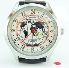 Russian POLJOT STURMANSKIE 24 hours Mechanical Wrist Watch 17 stones 82
