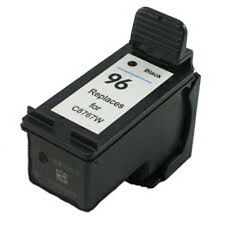 HP 96 Black C8767W Reman Ink Cartridge 28% More Photosmart 2610 2710 8050 8150