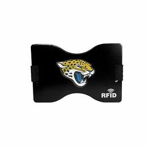 NEW Jacksonville Jaguars Football League Licensed Clip-On RFID Blocking Wallet
