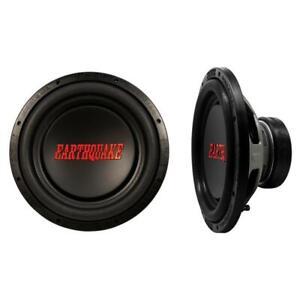 Earthquake Sound TremorX-124 1250 Watt 4 Ohm 12' High Performance Car Subwoofer