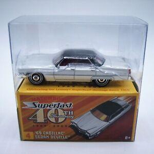 """MATCHBOX"" SUPERFAST 40th Anniversary **No.4 '69 CADILLAC SEDAN DeVILLE** MIB"