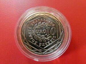 """10 EUROS COMMEMORATIVE 2009 """" ARGENT 900°/oo """"  FDC (Neuve sous capsule)"""