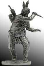 EK CASTINGS WILD WEST Native American with a knife WW11 Metal Figure 1/32