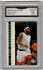 2003 Upper Deck #55 Lebron James Top Prospects Graded 10 Basketball Rookie Rare