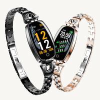H8 Women Smartwatch 2018 Wristband Waterproof Heart Rate Monitor Fitness Tracker