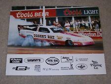 Drag Racing promotional poster flyer Ron Southerland Desert Rat Funny Car Wynn's