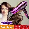 2800W Pro Hair Blow Dryer Powerful Heat Speed Salon Blower + Diffuser 220V