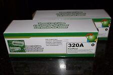 2BK Toner Cartridge CE320A 128A for HP Color LaserJet Pro CP1525NW CM1415 Series