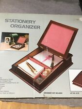 Wooden Stationary Organizer