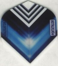 "Blue ""Vizion V"" PENTATHLON Dart Flights: 3 per set"