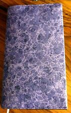 Fabric Paperback Book Cover - Purple - Sparkly