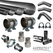 Auspuffrohr Abgasrohr Rohr Abgasanlage universal Ø38 42 45 48 50 54 57 65 76 mm