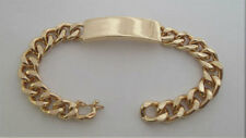"Chunky Gold ID Identity Bracelet, 21 cm / 8"" Long Comes in a Gift Bag"