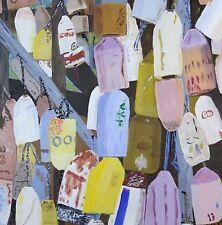 """""""Lost Bouys"""" 18 X 18 X 1 1/4 inch acrylic. By Harry W. Hallman"""