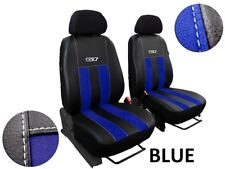 VW GOLF Mk7 SPORT SEATS 2012 ON TAILORED FRONT SEAT COVERS ECO LEATHER, ALICANTE