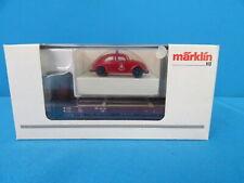 Marklin 46063 DB Open Goods car with Beatle BERLIN FEUERWEHR