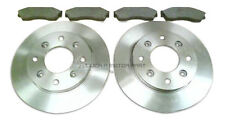 ROVER CITY ROVER 1.4 2003-2005 ALL MODELS FRONT 2 BRAKE DISCS AND PADS SET NEW