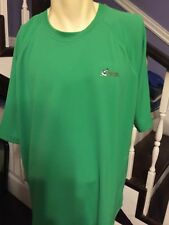 Mens World Wide Sportsman Shirt Green size XL Short Sleeve