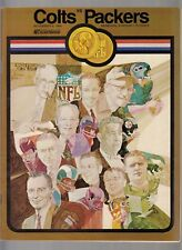 Baltimore Colts vs. Packers November 9, 1969 Official Program