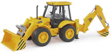 BRU2428 - Backhoe Jcb 4 Cx 4 Wheels Tees Toy Bruder