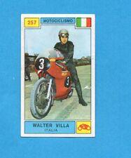 CAMPIONI SPORT 1969-70-PANINI-Figurina n.257- W.VILLA -ITALIA-MOTOCICLISMO-Rec