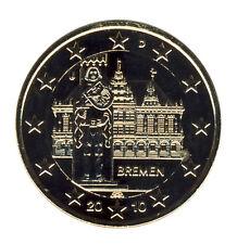 DEUTSCHLAND - 2 Euro 2010 - BREMEN - J - vergoldet (12528/1192N)