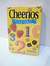 Cheerios Counting O's Card Game 48 Jumbo Cards Ages 3-6 Numbers Counting Kids