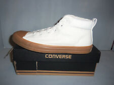 Mens Converse Chuck Taylor All Star Street Mid Lace Up Shoes #155706C Sizes NIB