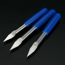3pcs 3.175mm Shank 30 Degree 0.1/0.2/0.3mm Carbide Engraving Bits CNC Tool for