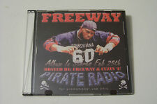 FREEWAY & CUZIN E - STREET BANGERS / PIRATE RADIO PROMO MIXTAPE CD (ROC-A-FELLA)