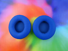 2 Beats Solo 2 Solo2 2.0 WIRELESS Ear Pads Part Replacement Cushions * BLUE *