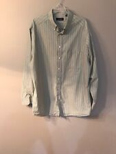 Roundtree Yorke Tall Man Button Front Shirt 2XT Paisley Print Wine 4Z14-16