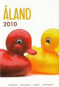 Aland Island Finland Official Complete Mint MNH Stamp Year Set 2010