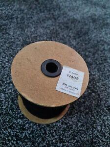 Black Elastic W408 300 Metres 4mm 4 Cord Face Masks hand crafts elastic in UK