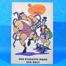 Mosaik 198 Digedags Hannes Hegen Originalheft   DDR   Sammlung original MZ 11