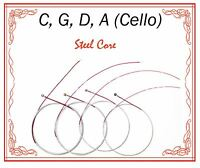 New Paititi Cello String Set 4/4 Size Cello Premium Quality Steel Core Ball End