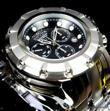 Invicta S1 Rally 54mm Stainless Steel Swiss Movt Chronograph Black Watch New