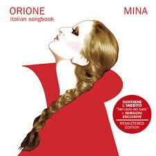 MINA - ORIONE Italian Songbook - CD NUOVO SIGILLATO  2020