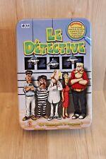 Jeu de Société - Le Detective - Mattel - complet (jeu d'enquête) - boîte métal